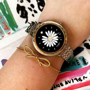 Kate Spade Stainless Steel Scallop Smartwatch